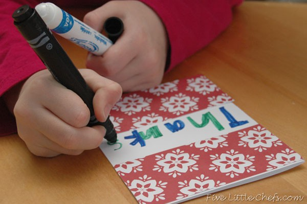 Decorating a Card