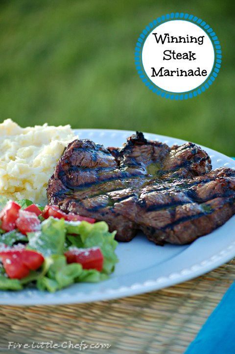 Steak Challenge: Marinade vs Dry Rub by fivelittlechefs.com - Which Steak came out on top #recipes #bbq #seasoning for #steak #marinade