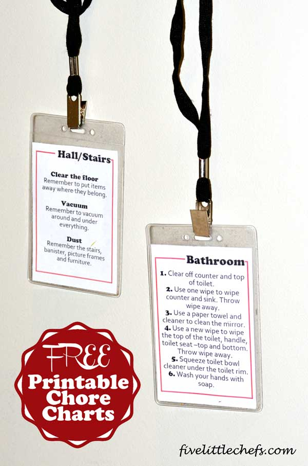 image about Printable Picture Chore Cards identify No cost Printable Chore Charts 5 Minimal Cooks