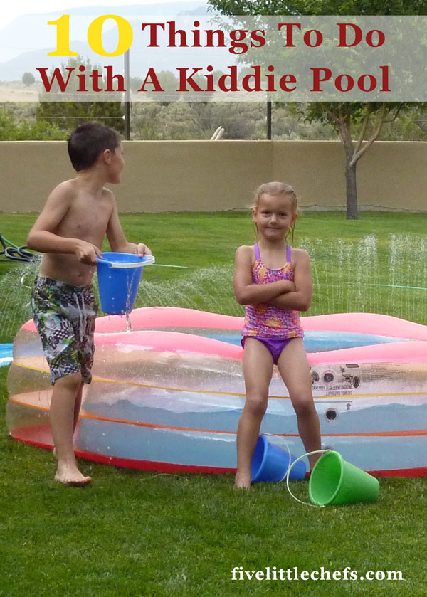 10 kiddie pool ideas for summer.