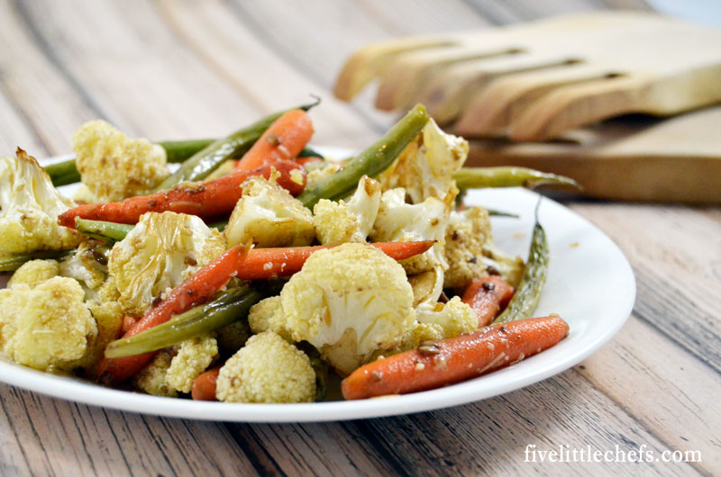 Roasted balsamic vegetables is a great side to complement your meal. This recipe is easy and versatile.